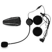 Bluetooth Motorcycle Intercom Motorbike Helmet Interphone / FM Radio / GPS Intercom 4 Buttons Operation Bluetooth 3.0 D2 500m