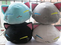 28 cm Cartoon nemuneko sleeping cat soft plush doll toys Kawaii cat animal pillow  free shipping