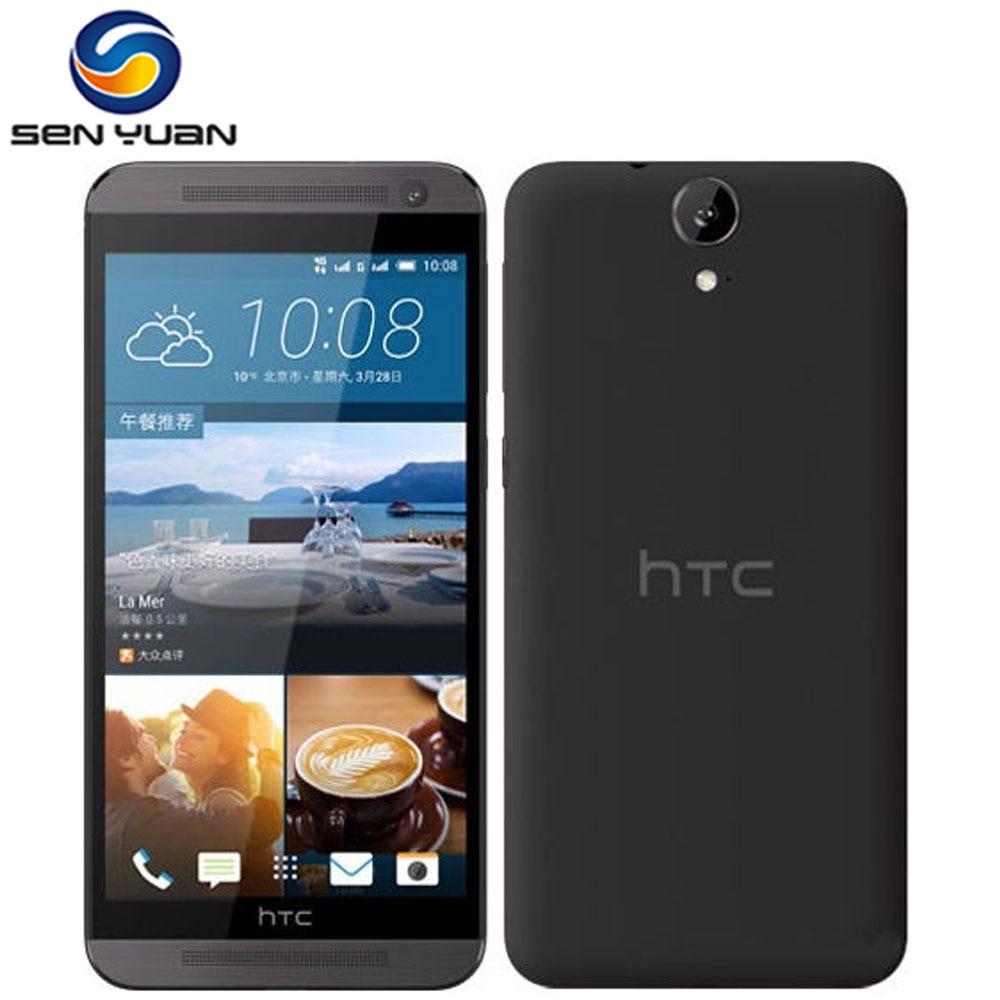 """Цена за E9 Оригинальный HTC One E9 Мобильный Телефон E9W 2 Г RAM 16 Г ROM смартфон Окта основные 5.5 """"Сенсорный экран 13MP LTE мобильный телефон"""