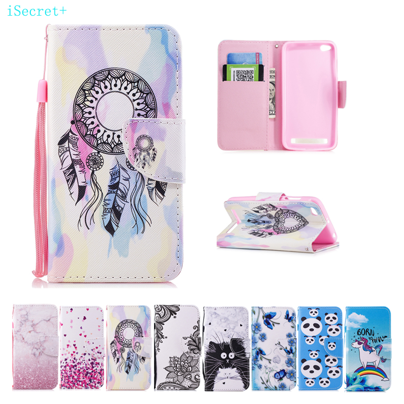 For Xiaomi Redmi 5A Case Flip Wallet PU Leather Case For Xiaomi Redmi 5a Cover High Quality Book Stand Card Phone Cases 5.0