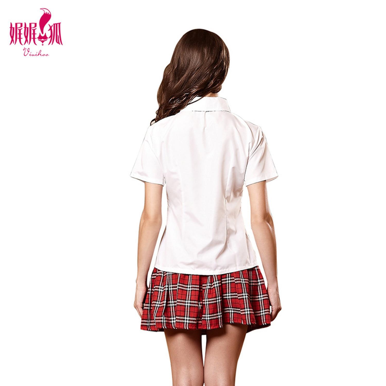 2018 New Sexy School Uniform Girl Shirt Skirt School Stage Performance Set Cosplay Costume Japanese High School Student Uniform