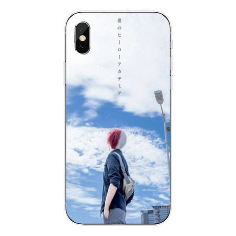 Anime My Hero Academia Soft TPU Phone Cases For iPhone 5 5S SE 6 6S Plus 7 7 Plus XR XS MAX 8 8 Plus X 10 Clear Silicone Cover Islamabad