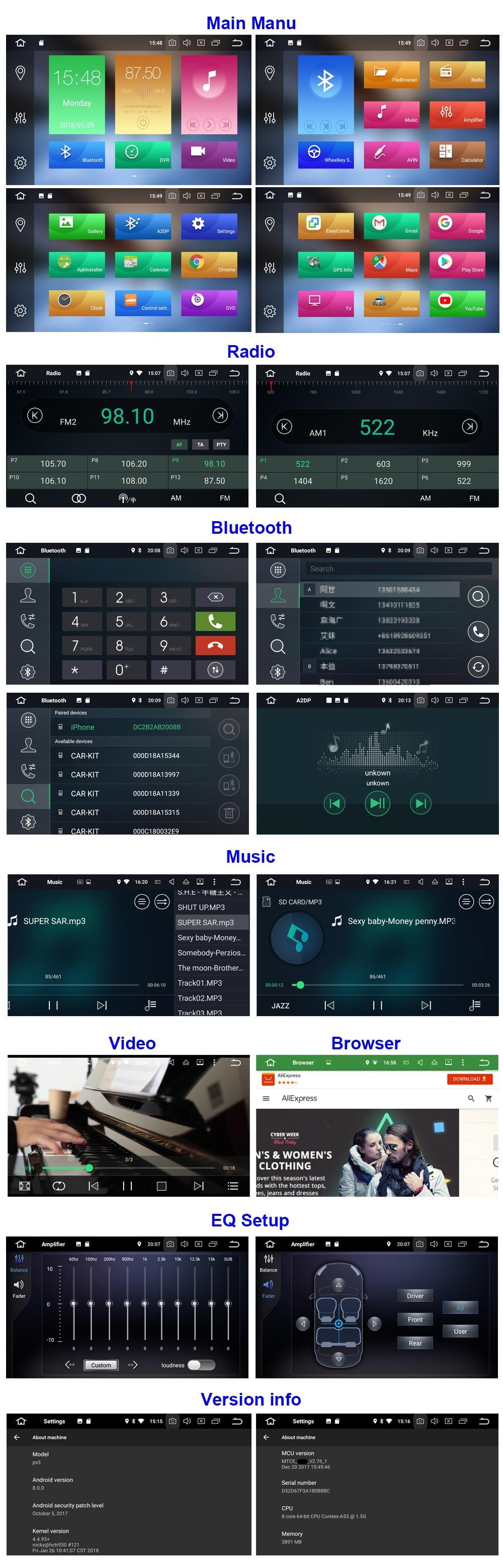 android 8.0 navigatie dedicata auto internet waze mirror link caraudiomarket craiova