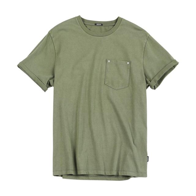 Men's Slim Fit T-shirts  Vintage Safari Style Fashion O-neck 100% Cotton