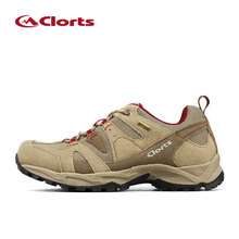 New Clorts Women Waterproof Hiking Shoes Breathable Trekking Shoes For Women Outdoor Professional Leather Walking Shoes Woman