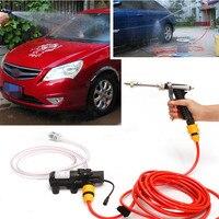 12V 65W High Pressure Marine Deck Car Washer Wash Water Pump Cleaner Sprayer Kit