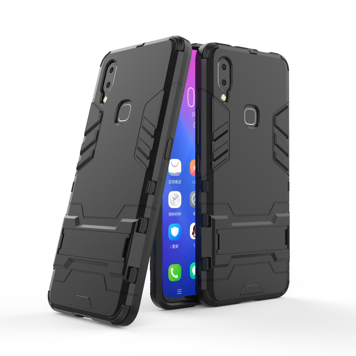 Soaptree Cover For Vivo Y83 Pro Case Luxury Robot Armor Rubber Phone Case For Vivo NEX A Back Cover For BBK Vivo Y83 Pro Shell