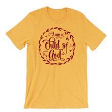 Christian T-Shirt I Am A Child Of God