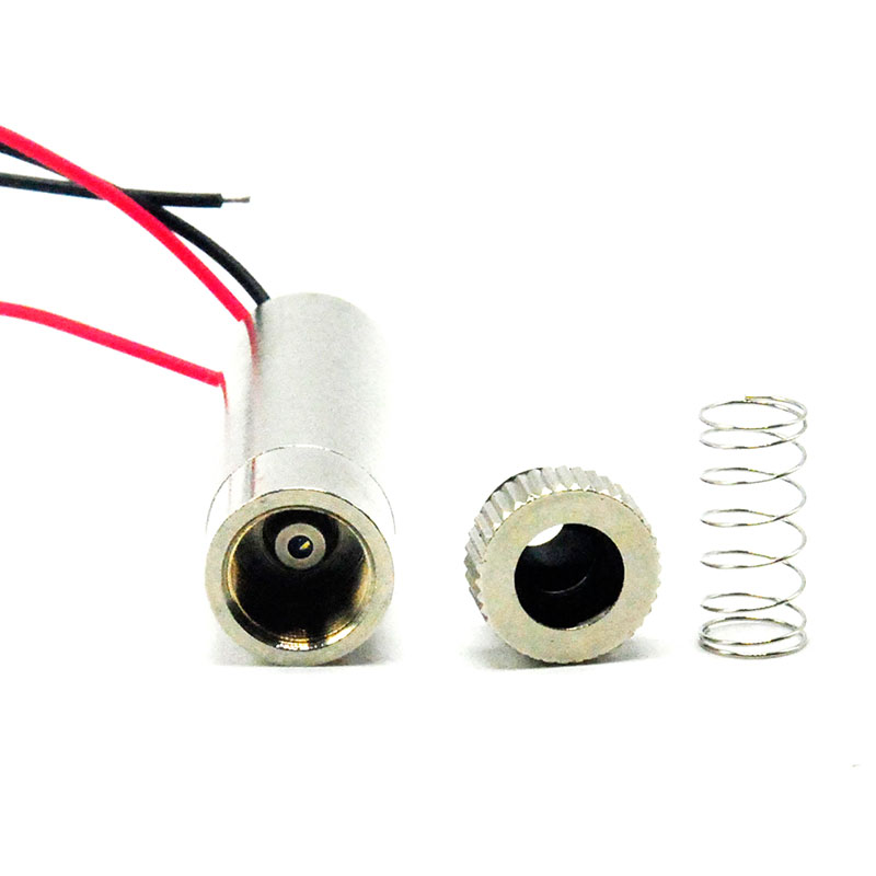 Focusable 650nm 30mW Red Laser Diode Module w Focus Dot Line Cross Collimator Lens Heatsink in Stage Lighting Effect from Lights Lighting