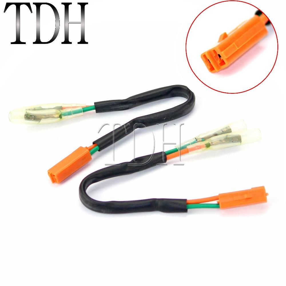 4pcs Oem Turn Signal Wiring Harness Connectors Adapter Plug For Kawasaki Wire Z125 Z250 Z300 Z650 Z900 On Alibaba Group