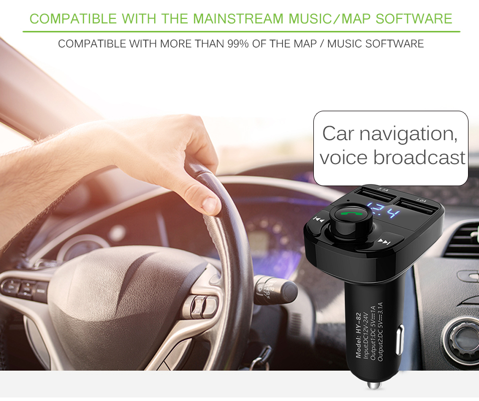 fm transmitter bluetooth 4