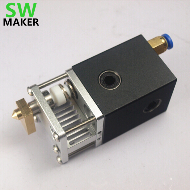 SWMAKER ultimaker 2 UM2 hot end kit extrusion kit for DIY 3D printer hot end pack All-metal exturder kit for 1.75/3mm filament funssor ultimaker 2 um2 dual extrusion kit nozzle hot end kit set assembly print head kit for 1 75mm 3mm 3 d printer parts