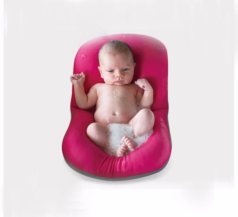 Infant Baby Bath Pad Non-Slip Bathtub Mat NewBorn Safety Security ...