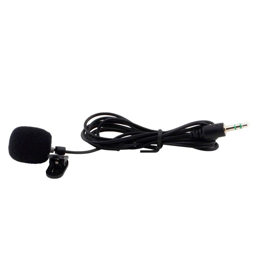 1Pcs 30Hz~15000Hz Mini 3.5mm Tie Lapel Lavalier Clip On Microphone for Lectures Teaching Wholesale 2017 Drop Shipping