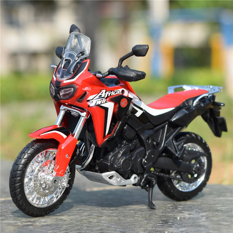 Africa Twin DCT CRF1000L Motorcycle Toy Model 6