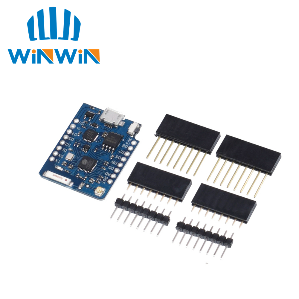 1PCS Wemos  D1 Mini Pro 16M Bytes External Antenna Connector ESP8266 WIFI