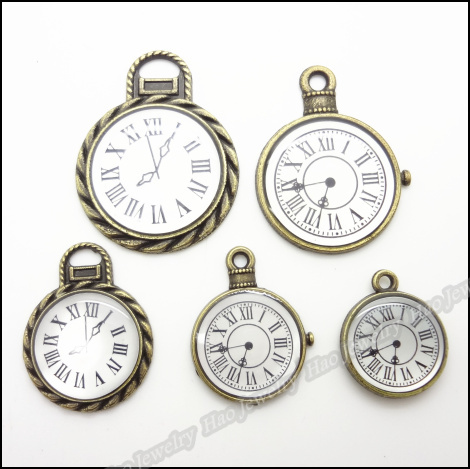 Микс 50 шт винтажные Подвески колокольчик Подвеска Античная бронза подходит для браслетов ожерелье DIY Изготовление Металлических ювелирных изделий