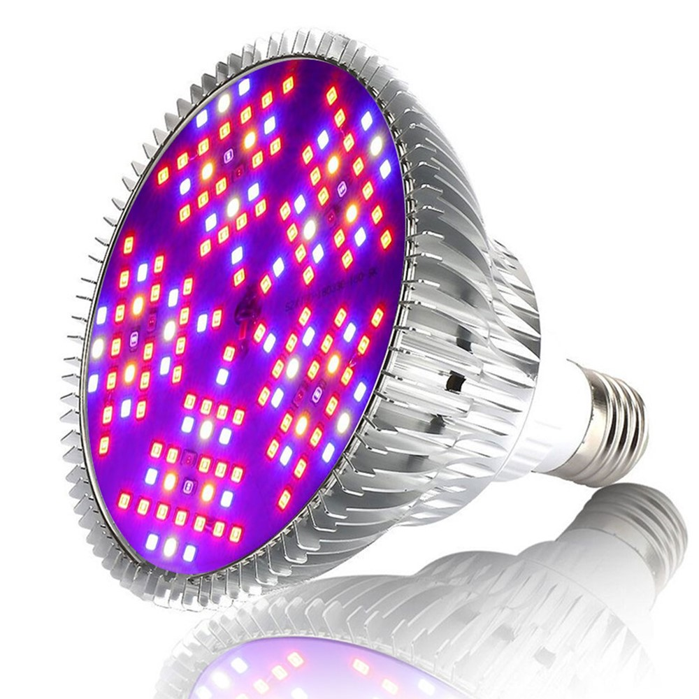 1PCS E27 30W 50W 80W 100W Full Spectrum LED Plant Grow Light LED Horticulture Grow Lamp for Garden Flowering Hydroponics System 50w gow led chips newest full spectrum grow led ppf for plant flowering and fruit green house hydroponics system medical