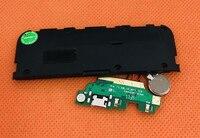 Used Original USB Plug Charge Board+loud speaker For Leagoo M8 MT6580A Quad Core 5.7