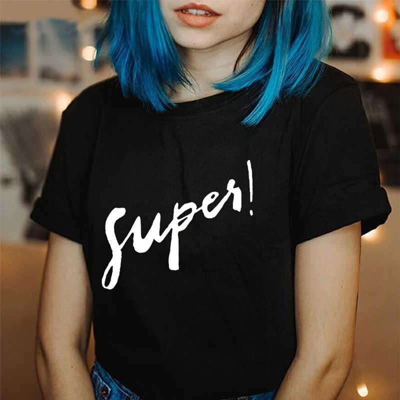レディースファッション流行の Tシャツ作成フォロー服黒美的アート原宿グラフィック Tシャツ夏のホット女性かわいい
