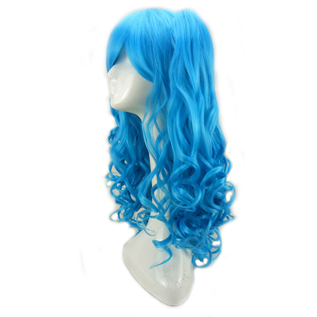 5 Colors to Choose from Cosplay Wigs