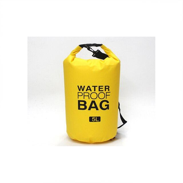 Details about  /2L//5L//10L//15L//20L//30L Outdoor Waterproof Bag Dry Bag Phone Pouch Waist Bag