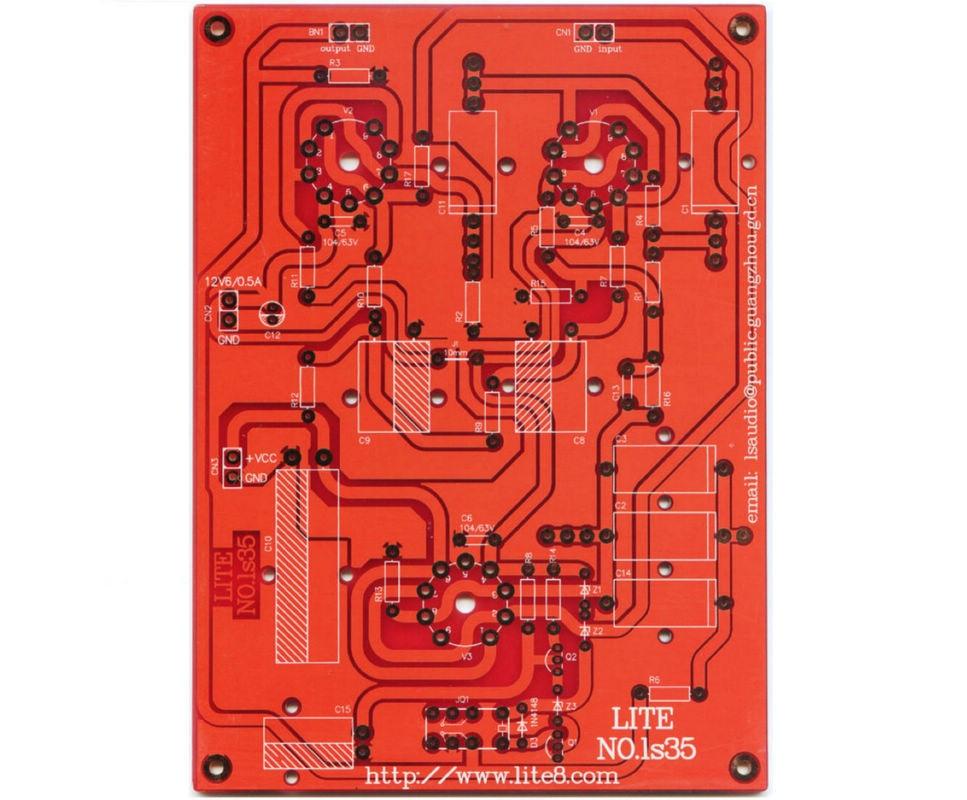 2 pièces LITE LS35 JADIS split tube préampli PCB carte nue