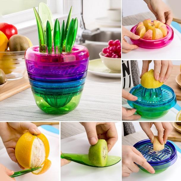 Wonderful Latest Kitchen Tools Part - 2: Online Shop The Latest Fruit Salad Kitchen Tools Shredder FRUIT PLANT  Multifunctional Fruit Conditioner | Aliexpress Mobile