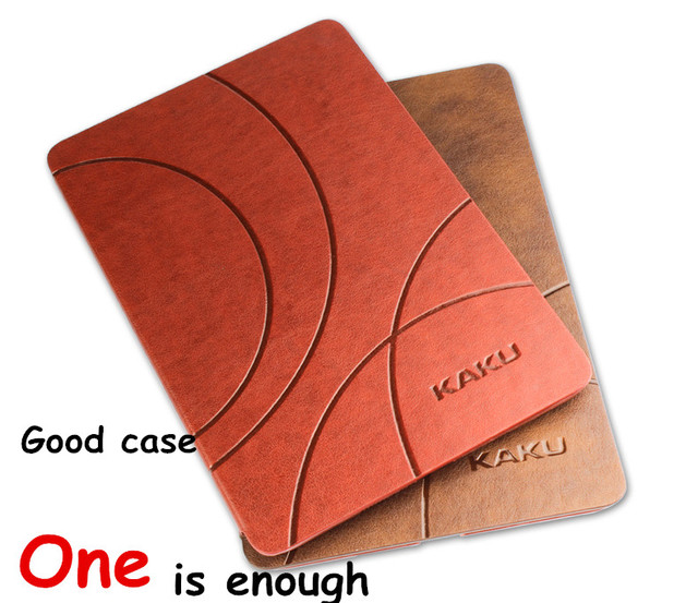 """Brand Kaku For xiaomi mipad 1Prime Mi Pad 1 7.9"""" Tablet Cases Christmas Birthday Gift Classic PU Leather Case Flip Cover"""