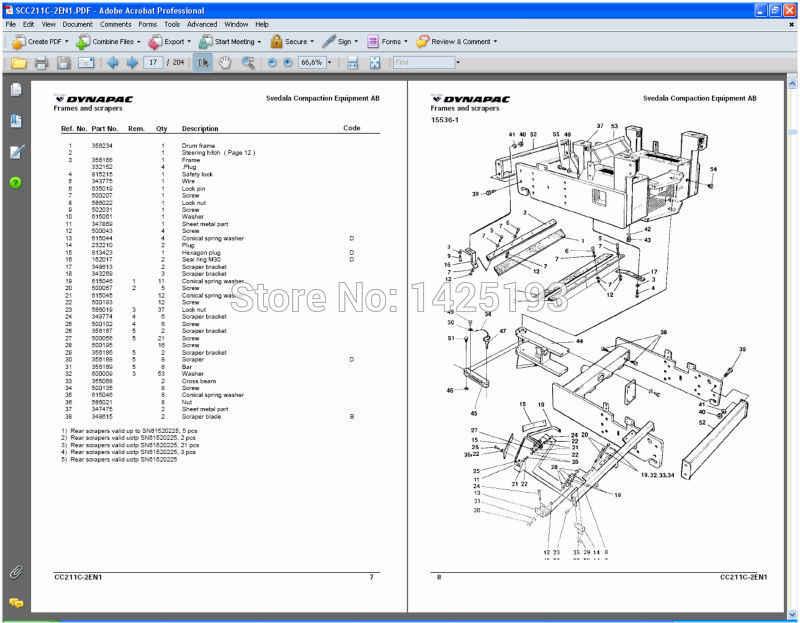 Dynapac Wiring Diagram Wiring Diagram
