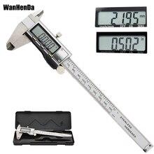 6 inch 150mm metal caliper stainless steel digital caliper electronic digital vernier caliper Gauge meter measurement tool ruler