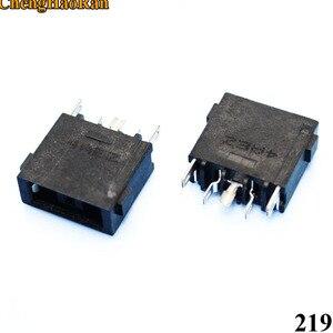 Image 3 - Chenghaoran 1x dc 전원 잭 커넥터 레노버 g400 g490 g500 g505 z501 dc 잭 5pin oga 13x1 탄소 노란색 사각형 포트