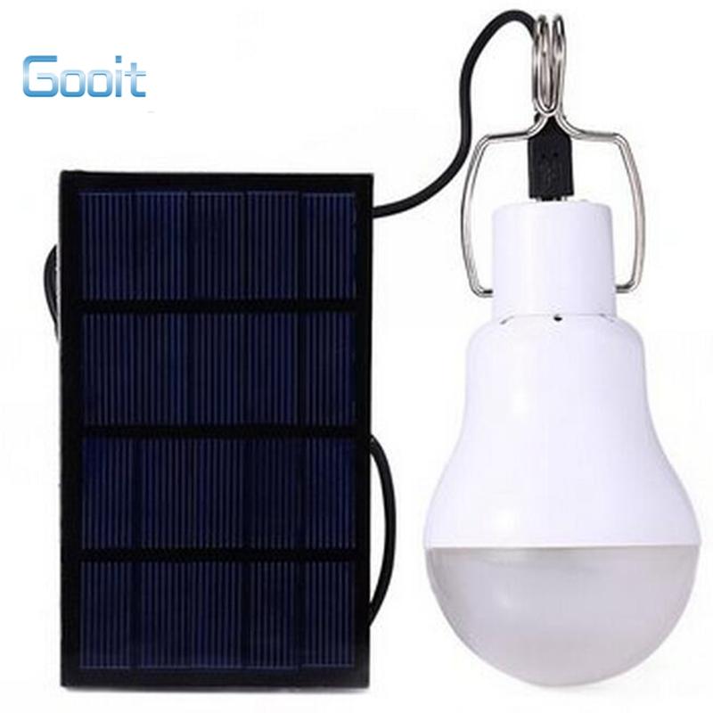 la energa solar conducido bombilla solar al aire libre lmpara de la energa verde de tierra