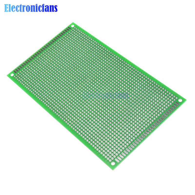 2PCS 9*15cm 9x15cm Double Side Board DIY Prototype Paper PCB 1.6mm