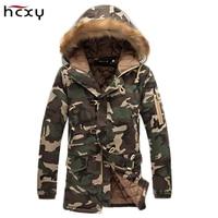 New Winter Brand Men Down Jacket Fur Hood With Cashmere Plus Size XXXL Winter Jacket High