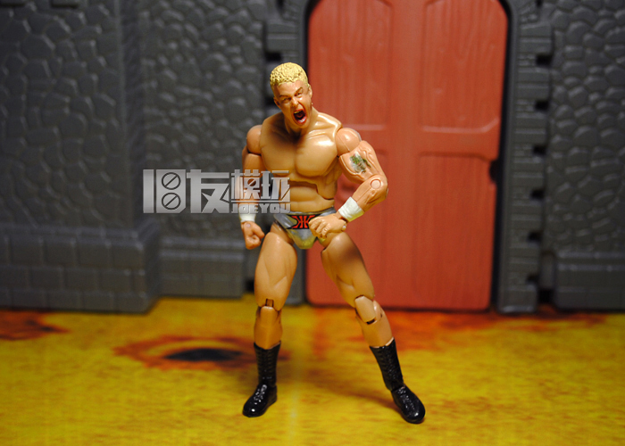10CM JAKKS Pacific Classic Toy Super Movable Wrestler occupation wrestling Anderson Fighter action figure Toys