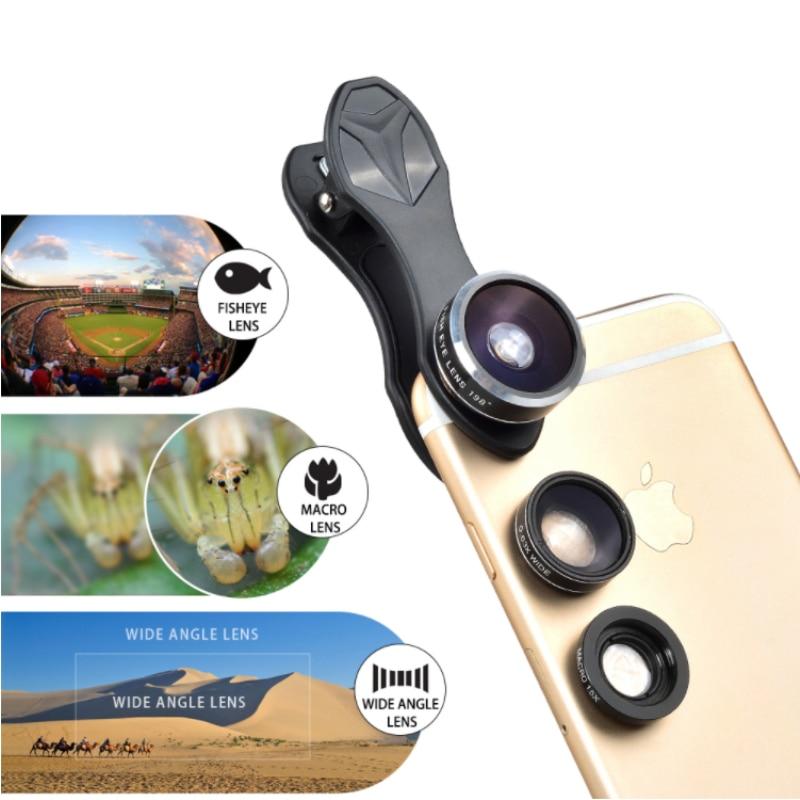 APEXEL 6IN1 telefon kamera lens 12X Telescope telefonoto Zoom + - Cib telefonu aksesuarları və hissələri - Fotoqrafiya 5
