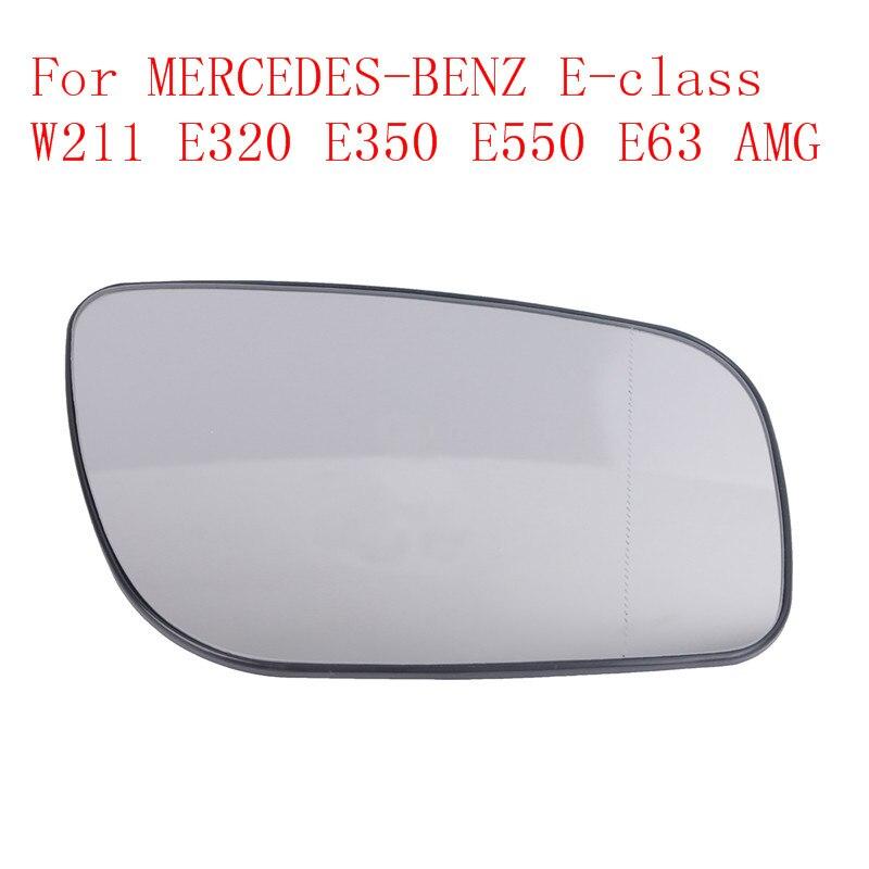 Mercedes E W211 S211 C W203 S203 CL203 RIGHT Mirror Glass Convex Chrome Heated