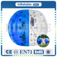 Inflatable Bumper Ball Bubble Soccer Balls diameter 4ft (1.2m) Bubble Football Ball For Children