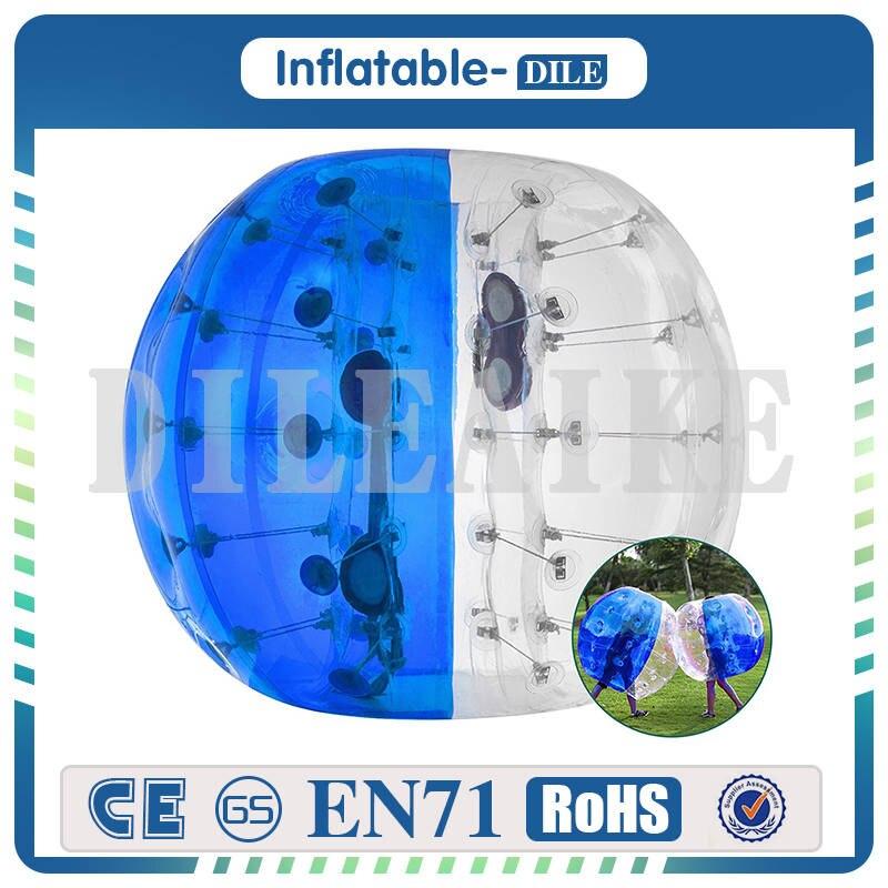 Inflatable Bumper Ball Bubble Soccer Balls diameter 4ft (1.2m) Bubble Football Ball For Children