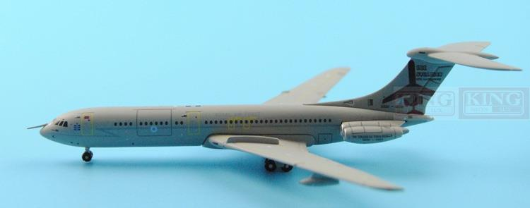 GMRAF061 VC-10 British Royal Air Force C1K 1:400 50 anniversary GeminiJets commercial jetliners plane model hobby