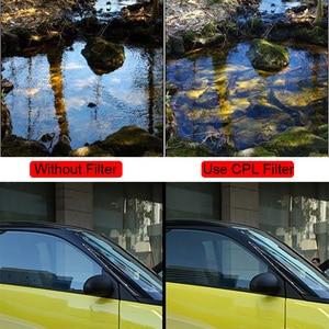 Image 2 - 소니 캐논 니콘 편광 필터 용 cpl 필터 25/28/37/40.5/46/49/52/55/58/62/67/72/77/82mm 폴라 보호 카메라 필터