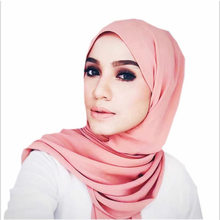 2pcs 2019 Summer Women 50colors To Choose Pearl Chiffon Islam Maxi Crinkle Cloud Hijab Scarf Shawl Muslim Long Shawl Stole Wrap цена