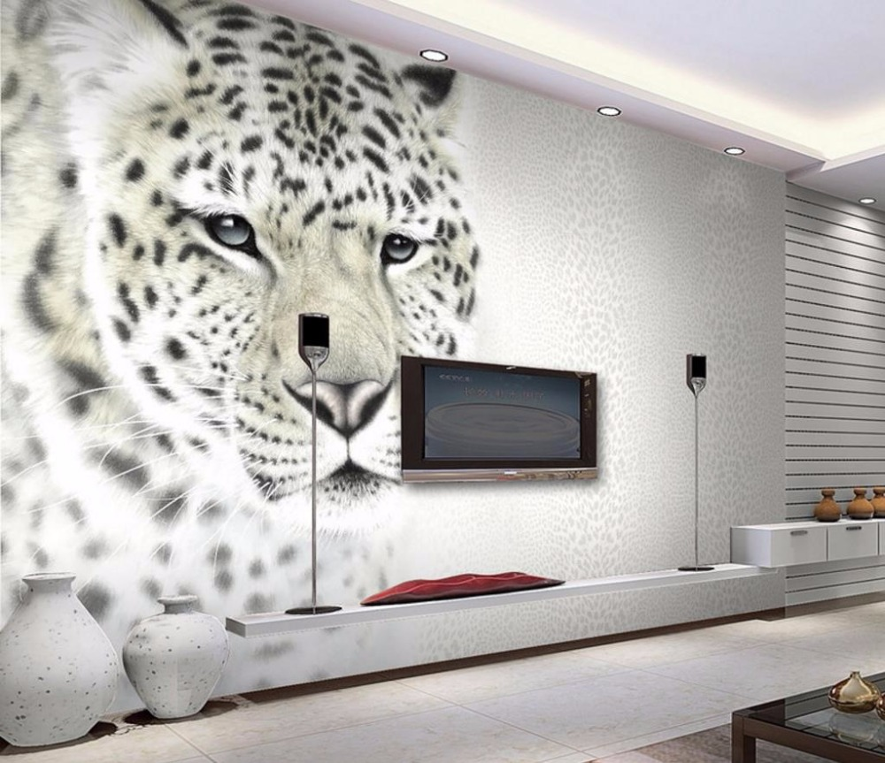 3D Custom Modern Fashion Decorative Paintings animal Large Mural Wall Living room Bedroom Bbackdrop Wallpaper battlefield 3 или modern warfare 3 что