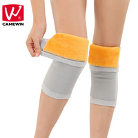 CAMEWIN Brand 2 PCS Knee Pads Keep Warm Knee Guard Breathable Thickening Knee Support Prevent Arthritis Reduce Joint Pain
