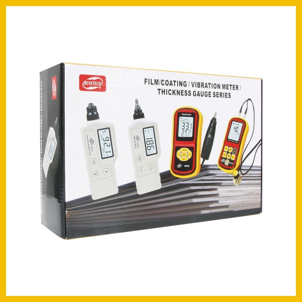 BENETECH  Digital Vibration Meter  hand held vibration monitoring equipment Visually display measurement value  GM63B-BENETECH