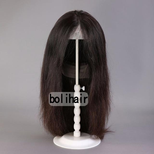 Frete Grátis! ajustável Suporte de Peruca Durável Estável Peruca Wig Display Stand Titular Ferramenta bloco de Metal bracket para peruca de cabelo
