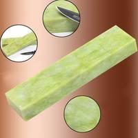 Natural Emerald Sharpening Stone 10000 Mesh Agate Super Fine Grinding Polishing Pedicure For Wood Shaving Knife