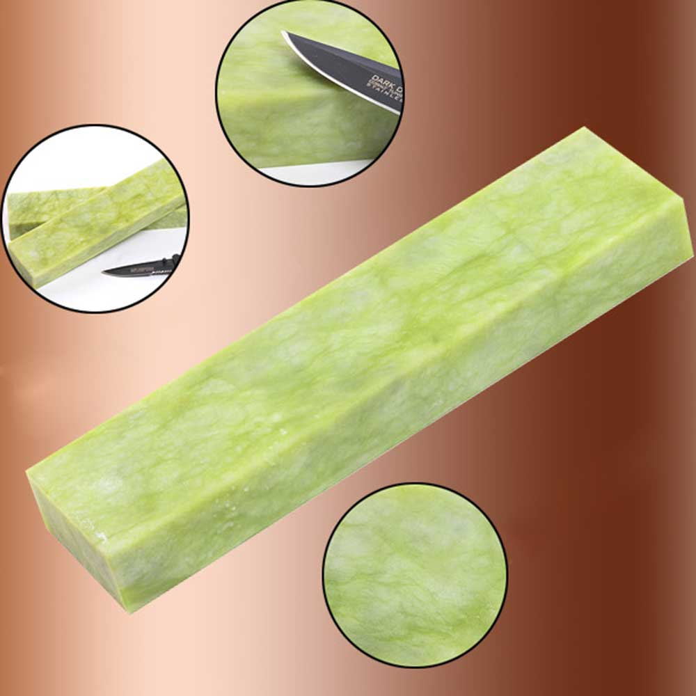 Natural emerald Sharpening stone 10000 mesh agate super fine grinding polishing Pedicure for wood shaving knife YS011 emerald