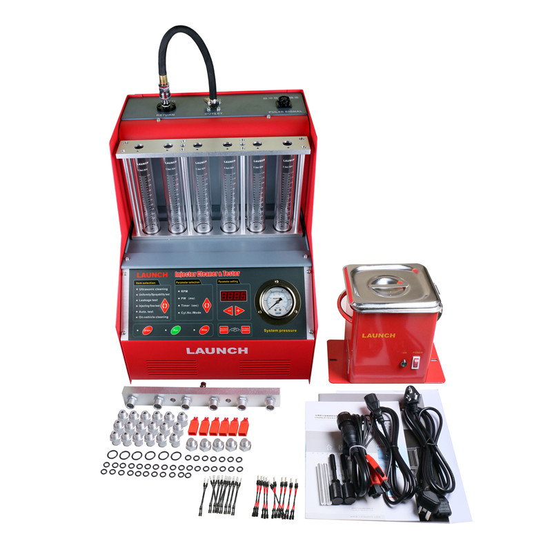 [LAUNCH Distributor] 100% Original Launch CNC602A Injector Cleaner&Tester with English Panel 6-cylinder CNC-602A Free Shipping